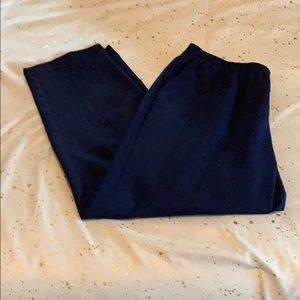 Alfred Dunner Plus Size Petite Navy Blue Pants